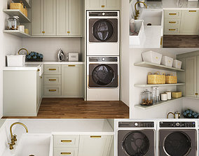 3D Collection Appliances I Laundry 12