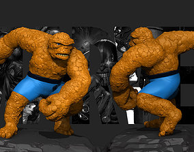 The Thing Marvel Fantastic four 3D print model