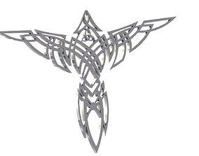 3D print model Celtic Eagle