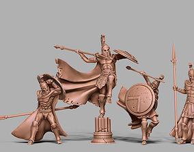 Spartan Bundle II - 4 spartan 3D printable model 3