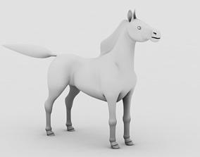 animals Horse 3D