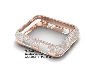 1104 Diamond case for Apple watch serie 3 3D print model