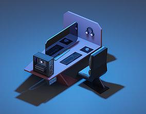 3D model VR / AR ready Gaming station
