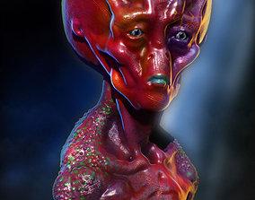 3D model Alien Lord