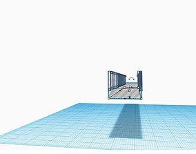 HO Scale model train Straight Bridge