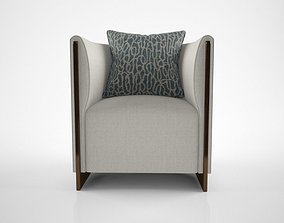 Oasis Adeline Armchair 3D model