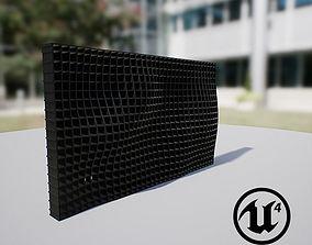 Waving Wall Panel A 3D model