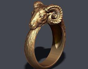 3D print model ram ring