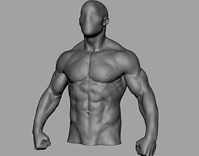 Male Torso v5 3D print model