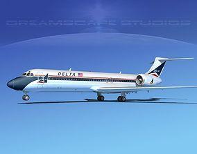 3D model Boeing 717-200 Dreamscape Dozen