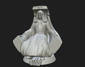 3D print model Emperor Palpatine - Fan Art