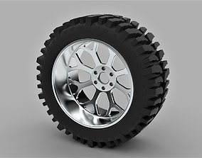 3D Offroad wheel for lifted trucks