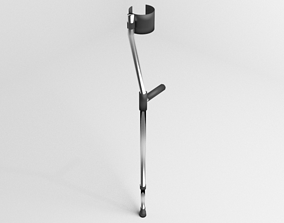 Walking Crutch - Elbow 3D