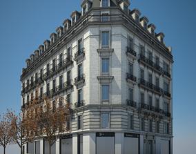 3D Old Building VIII