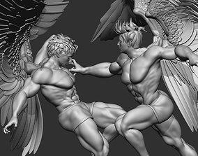 Battle of the Angels 3D print 3D model