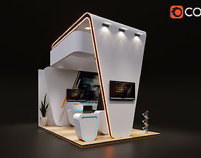 3D model Small Stand