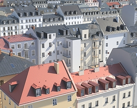 3D City Building Collection - 22 detailed houses