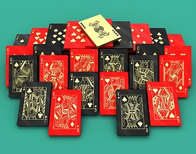 Playing Cards Chip Collection 3D print model