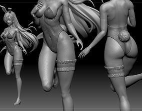 Elizabeth Liones Bunny Costume Seven 3D print model 1