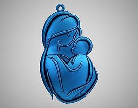 3D print model Mother Necklace