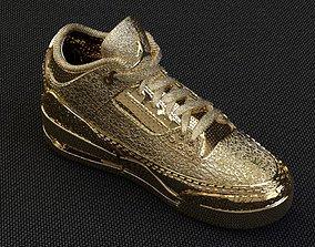 3d model of Jordan-3 Retro Shoes