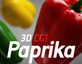 3D CGI Paprika