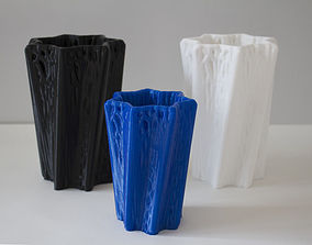 Vase Wireframe Design 3D print model