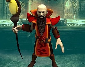 3D model Magus for Unity
