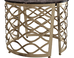 coffee table ISIDORO Round Isidoro Collection 3D model 1