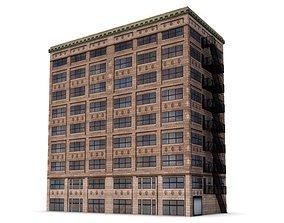 3D Architectural Building Digital