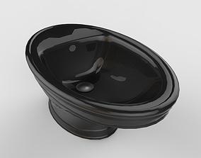 Closet 3D asset game-ready glazed