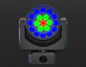 3D asset Moving Head LED