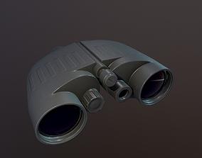 3D asset Military binoculars