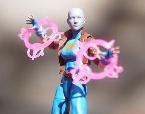 Marvel Legends Generic Female Head 6 inch 3D print model 1