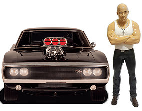 Vin Diesel Toretto Fast and Furious 3D printing ready 1