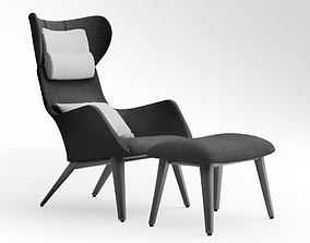 3D Coco Republic Soho Outdoor Occasional Chair