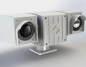 PTZ Thermal Camera 3D technology