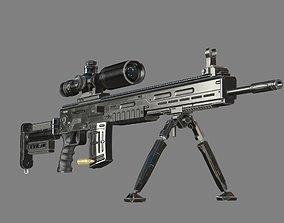 3D model SVD400 Rifle