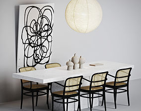 3D model Living room set 002
