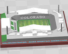 3D printable model Colorado Rapids - Dicks Sporting Goods