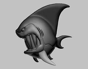 Fish 3d print model ready to print