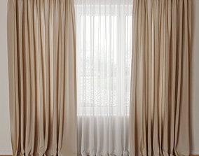 curtain Curtain 08 3D model