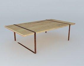 3D model ATLANTIS COFFEE TABLE houses the world