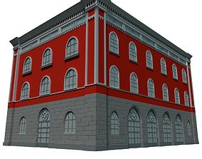 3D Building street