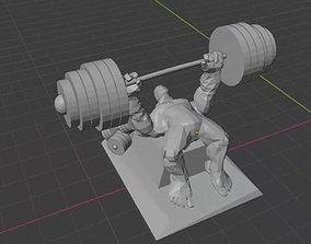 BenchPress creation 3d
