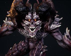 3D asset Demon 1
