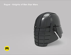 Rogue helmet - Knights of Ren - Star 3D printable model 1
