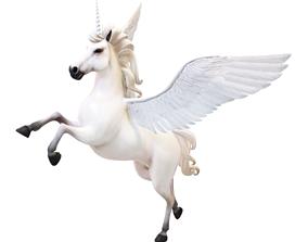 cartoon unicorn 3D animated