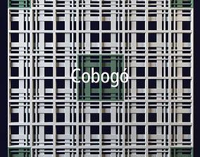 Cobogo geometrical panel 3 3D model
