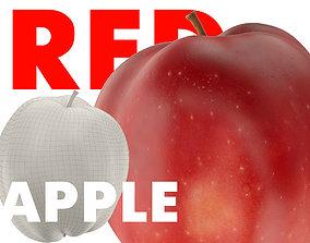 RED APPLE 3D MODEL sweet